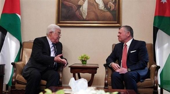 الملك الأردني عبدالله الثاني، والرئيس الفلسطيني محمود عباس (أرشيف)