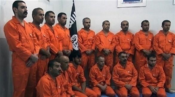 معتقلون من تنظيم داعش الإرهابي (أرشيف)