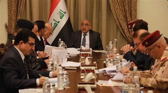 جلسة لمجلس الأمن العراقي (أرشيف)