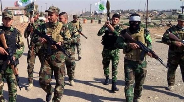 مسلحون من الحشد الشعبي العراقي (أرشيف)