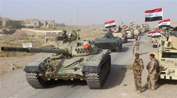 قوات عراقية على الحدود مع سوريا (أرشيف)