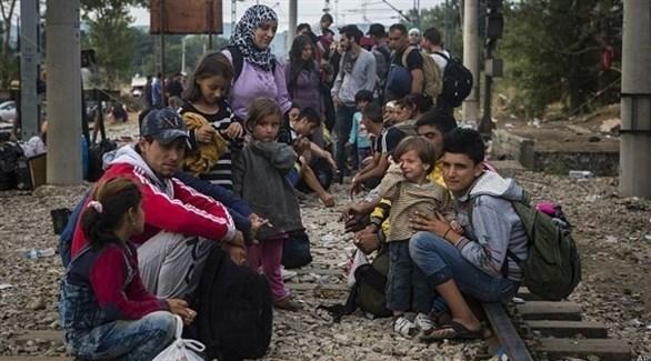 لاجئون أفغان على الحدود بين اليونان ومقدونيا (أرشيف)