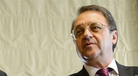 نائب وزير الخارجية الروسي ميخائيل بوغدانوف (أرشيف)