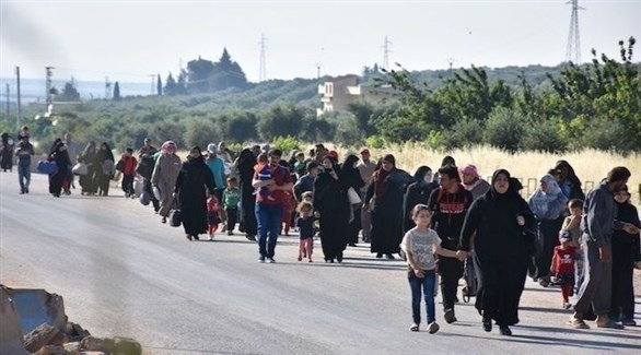 نازحون في سوريا (أرشيف)