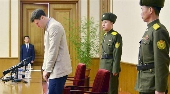 الطالب الأمريكي أوتو وارمبير الذي توفي إثر اعتقاله وتعذيبه في كوريا الشمالية (أرشيف)