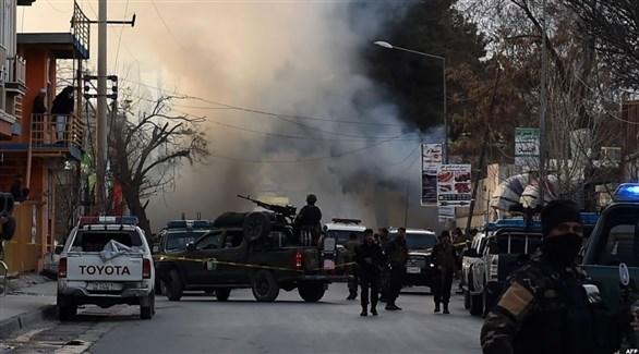 عسكريون أفغان كابول بعد تفجير سابق (أرشيف)