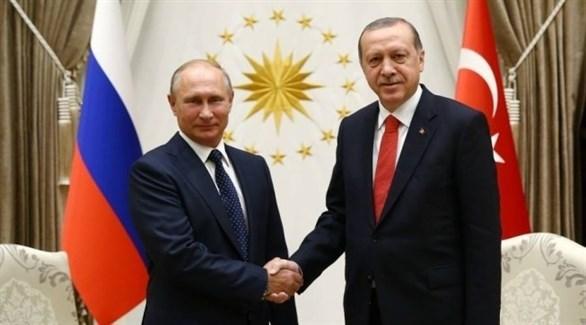 الرئيس التركي أردوغان ونظيره الروسي بوتين (أرشيف)
