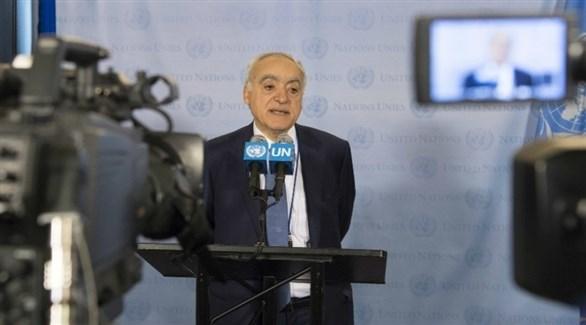 الممثل الخاص للأمين العام للأمم المتحدة في ليبيا، غسان سلامة (أرشيف)