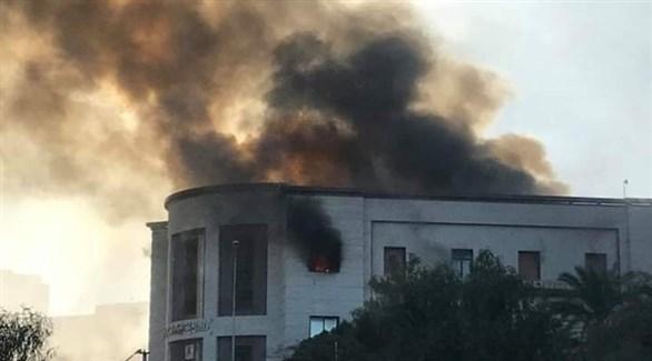 حادث الخارجية الليبية(أرشيف)