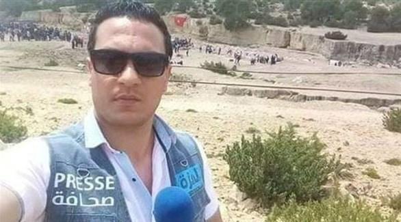 الصحافي عبدالرزاق رزقي الذي انتحر أمس احتجاجاً على الأوضاع بتونس (أرشيف)