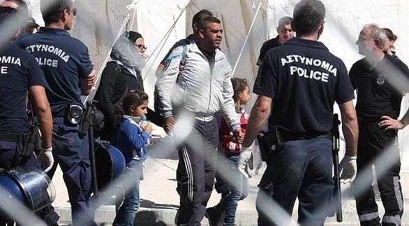 الشرطة القبرصية توقف عدداً من المهاجرين (أرشيفف)