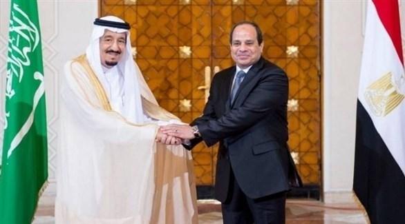 الرئيس المصري عبدالفتاح السيسي والعاهل السعودي الملك سلمان (أرشيف)