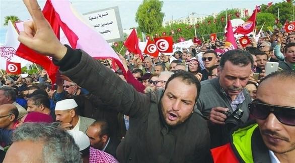 تظاهرة في تونس (أرشيف)