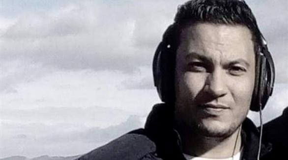 الصحافي عبد الرزاق الرزقي الذي حرق نفسه احتجاجاً على الأوضاع الاجتماعية المتردية (تويتر)