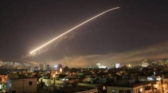 غارات على دمشق (أرشيف)