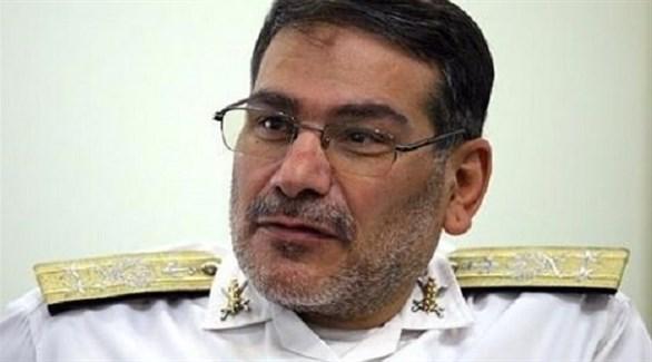 أمين عام المجلس الأعلى للأمن القومي الإيراني علي شمخاني (أرشيف)