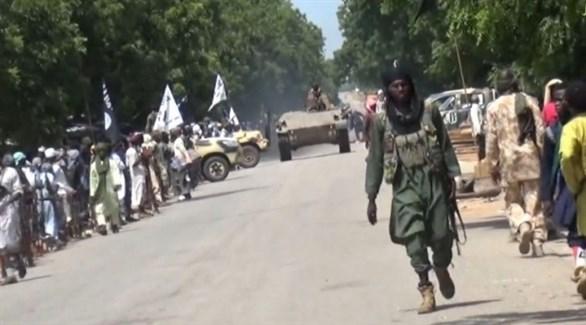 مسلحون من بوكو حرام الإرهابي في نيجيريا (أرشيف)