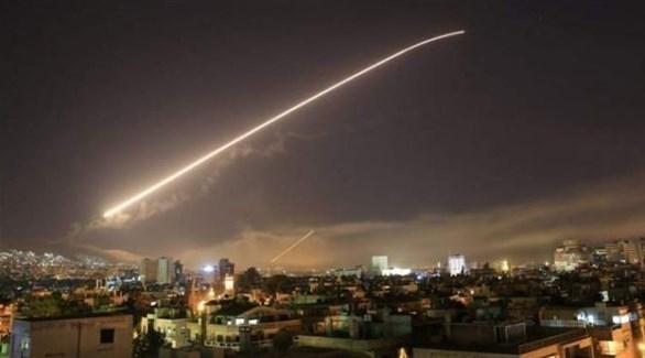 غارات إسرائيلية على سوريا (أرشيف)