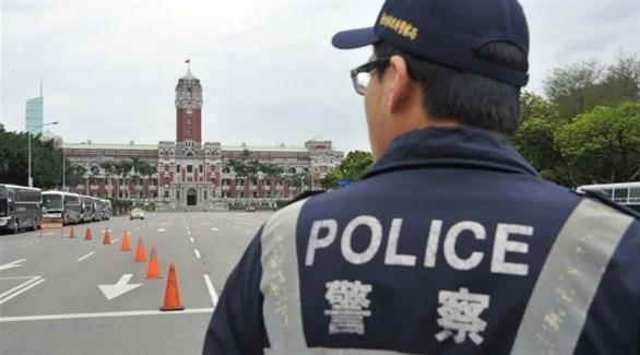 عنصر من الشرطة في تايوان (أرشيف)