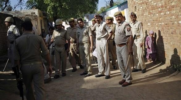 عناصر من الشرطة الهندية (أرشيف)
