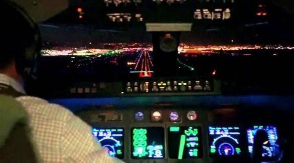 داخل مقصورة قيادة الطائرة (أرشيف)