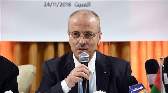 رئيس الوزراء الفلسطيني، رامي الحمد الله (أرشيف)