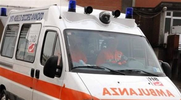 سيارة إسعاف إيطالية (أرشيف)