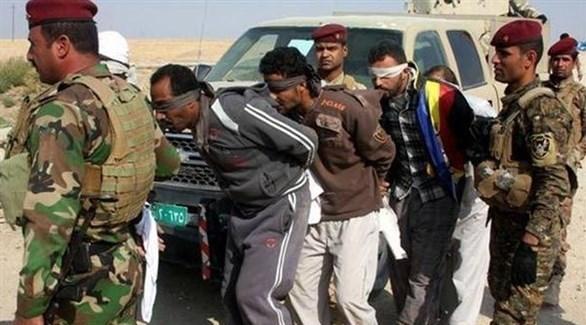 قوات عراقية تلقي القبض على عناصر من تنظيم داعش في كركوك (أرشيف)