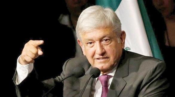 رئيس المكسيك، أندريس مانويل لوبيز (أرشيف)