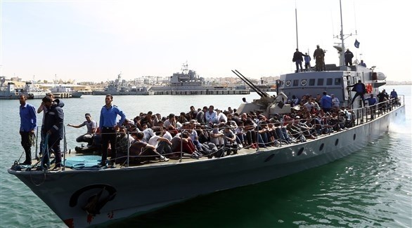 البحرية المغربية تنقذ مهاجرين (أرشيف)