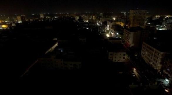 عجز كهربائي يشهده قطاع غزة (أرشيف)
