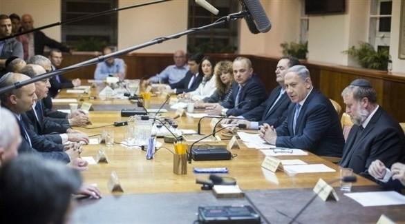 الحكومة الإسرائيلية برئاسة بنيامين نتانياهو (أرشيف)