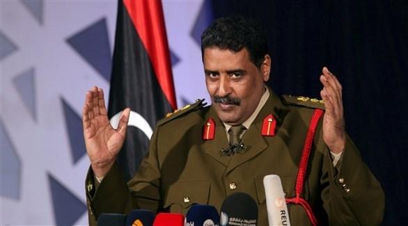 الناطق باسم الجيش الليبي أحمد المسماري (أرشيف)