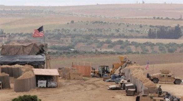 قاعدة عسكرية أمريكية غرب منبج السورية (أرشيف)