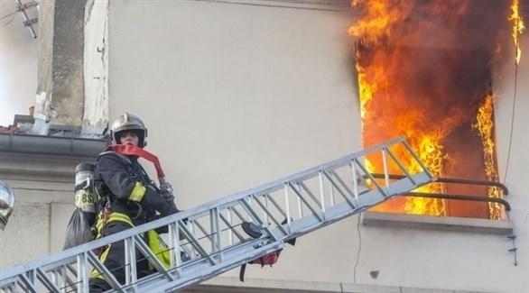 حريق بمبنى سكني في باريس (أرشيف)