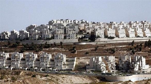 مستوطنة إسرائيلية بالضفة الغربية (أرشيف)