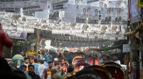 اشتباكات خلال انتخابات بنغلاديش (أرشيف)