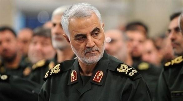 قائد ما يسمى بفيلق القدس في الحرس الثوري الإيراني قاسم سليماني (أرشيف)