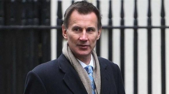 وزير الخارجية البريطاني جيريمي هانت (أرشيف)