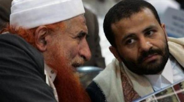 حميد الأحمر وعبدالمجيد الزنداني زعيما جماعة الإخوان في اليمن (أرشيفية)