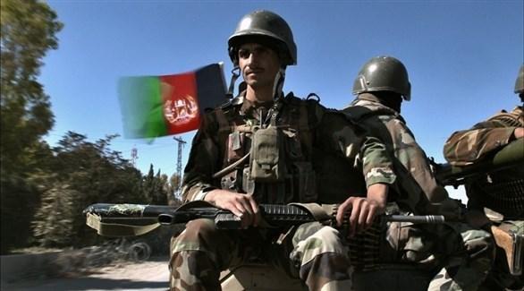 عناصر من القوات الأمنية في أفغانستان