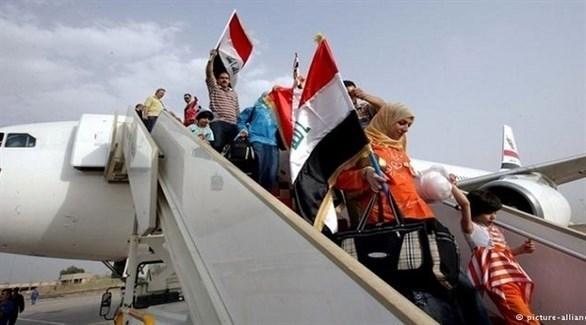 مهاجرون عراقيون (أرشيف)