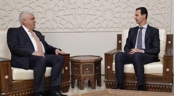 الرئيس بشار الأسد ورئيس الوزراء العراقي عادل عبد المهدي (سانا)
