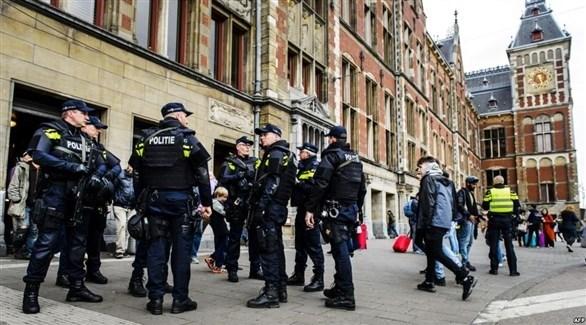 عناصر من الشرطة الهولندية (أرشيف)