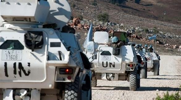 مدرعات عسكرية تابعة لقوات اليونيفيل في لبنان (أرشيف)
