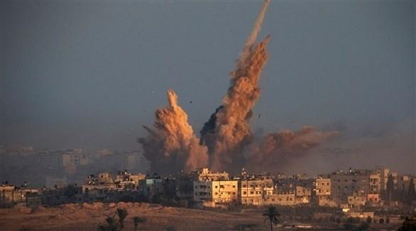 قصف على غزة (أرشيف)
