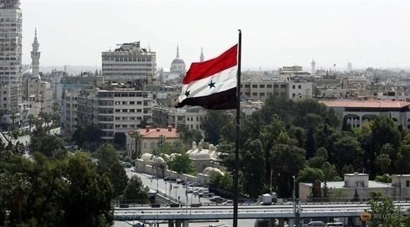 العلم السوري في دمشق (أرشيف)