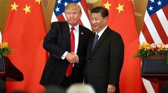 الرئيس الصيني شي جين بينغ ونظيره الأمريكي دونالد ترامب (أرشيف)