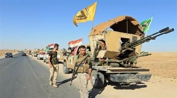 مسلحون من فيلق بدر التابع للحشد الشعبي في العراق (أرشيف)