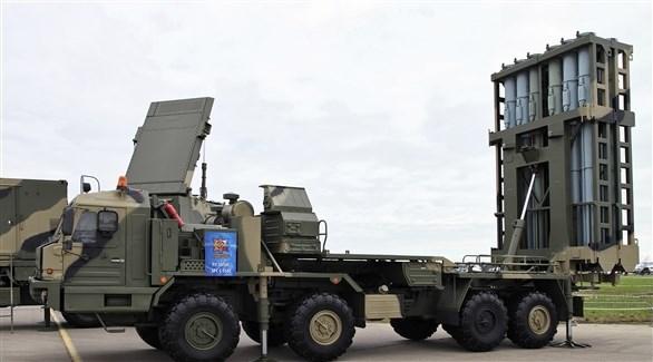 إحدى منظمات صواريخ الدفاع الجوي الروسي إس-350 فيتياز (أرشيف)